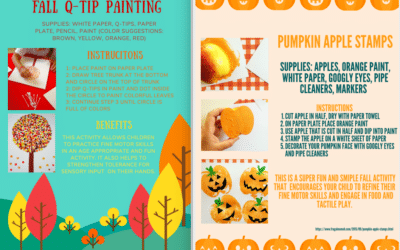 Fall Activities- Occupational Therapy Blog